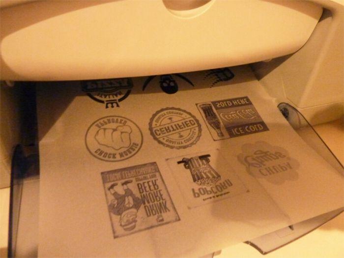 Imprimer Sur Du Bois - Imprimer ou transférer une image, un motif sur du bois Bricolage ShevArezo`Blog