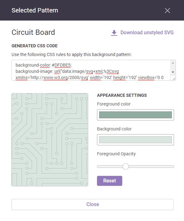 Des Backgrounds SVG Personnalisables Avec Hero Patterns WebDesign Simple Hero Patterns