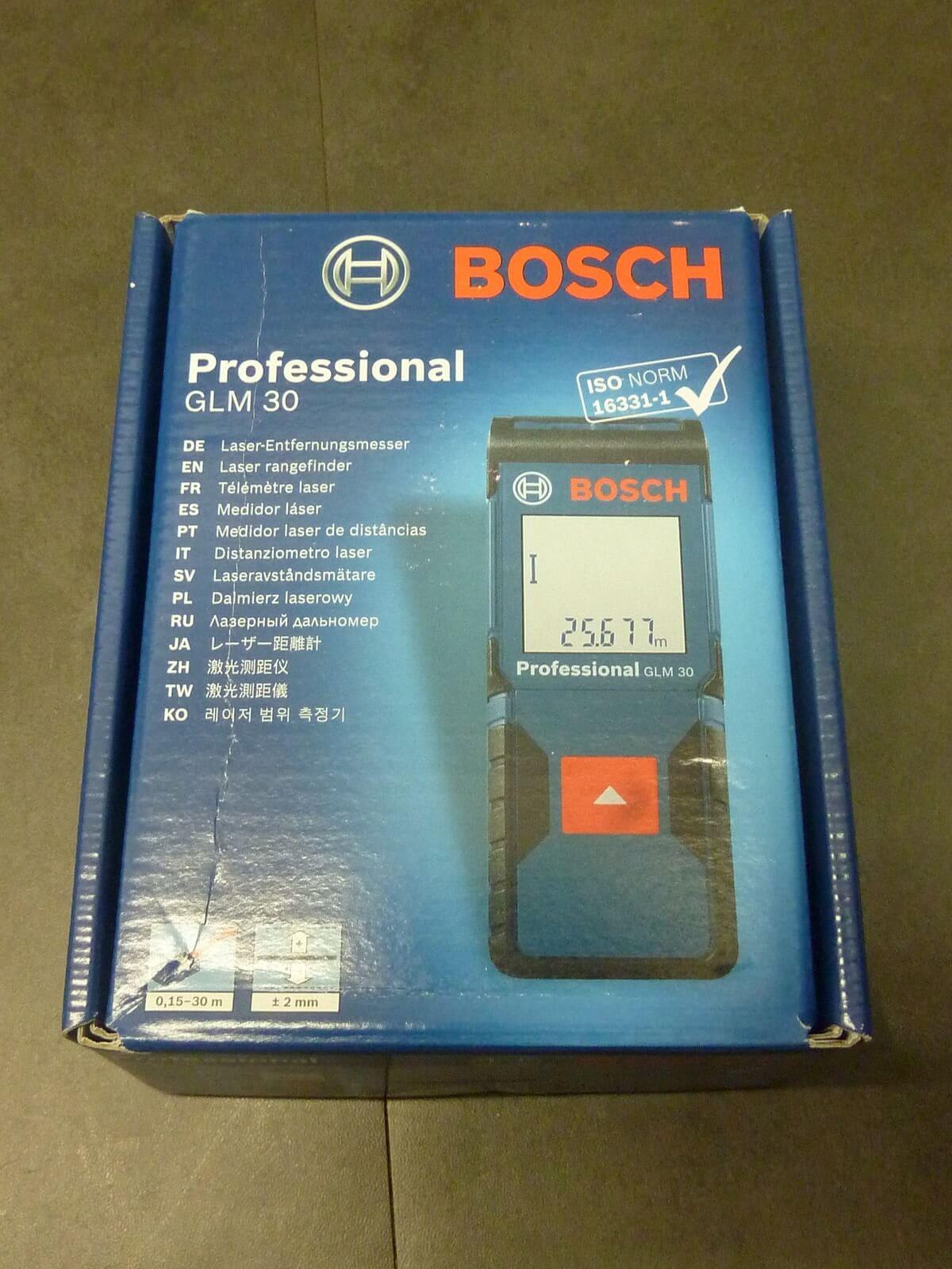 bosch blaze laser measure manual