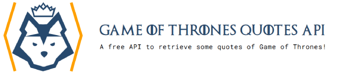 Game of Thrones quotes, une nouvelle API de citations !