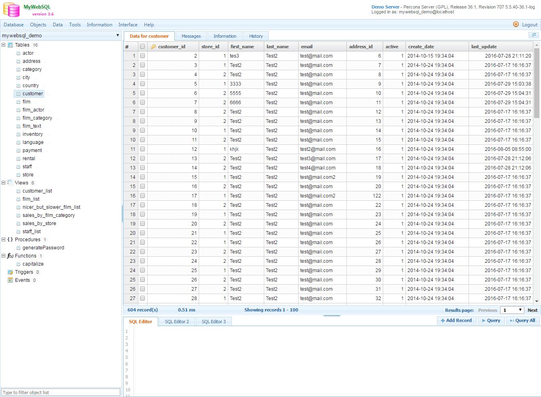 Des alternatives à PHPMyAdmin - Informatique générale