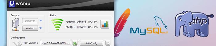 UwAmp, un serveur Web sur votre clé USB et une alternative à