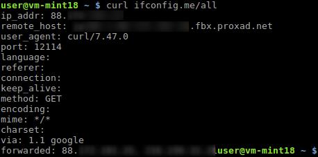 Comment Obtenir L Adresse Ip Sur Linux En Ligne De Commande