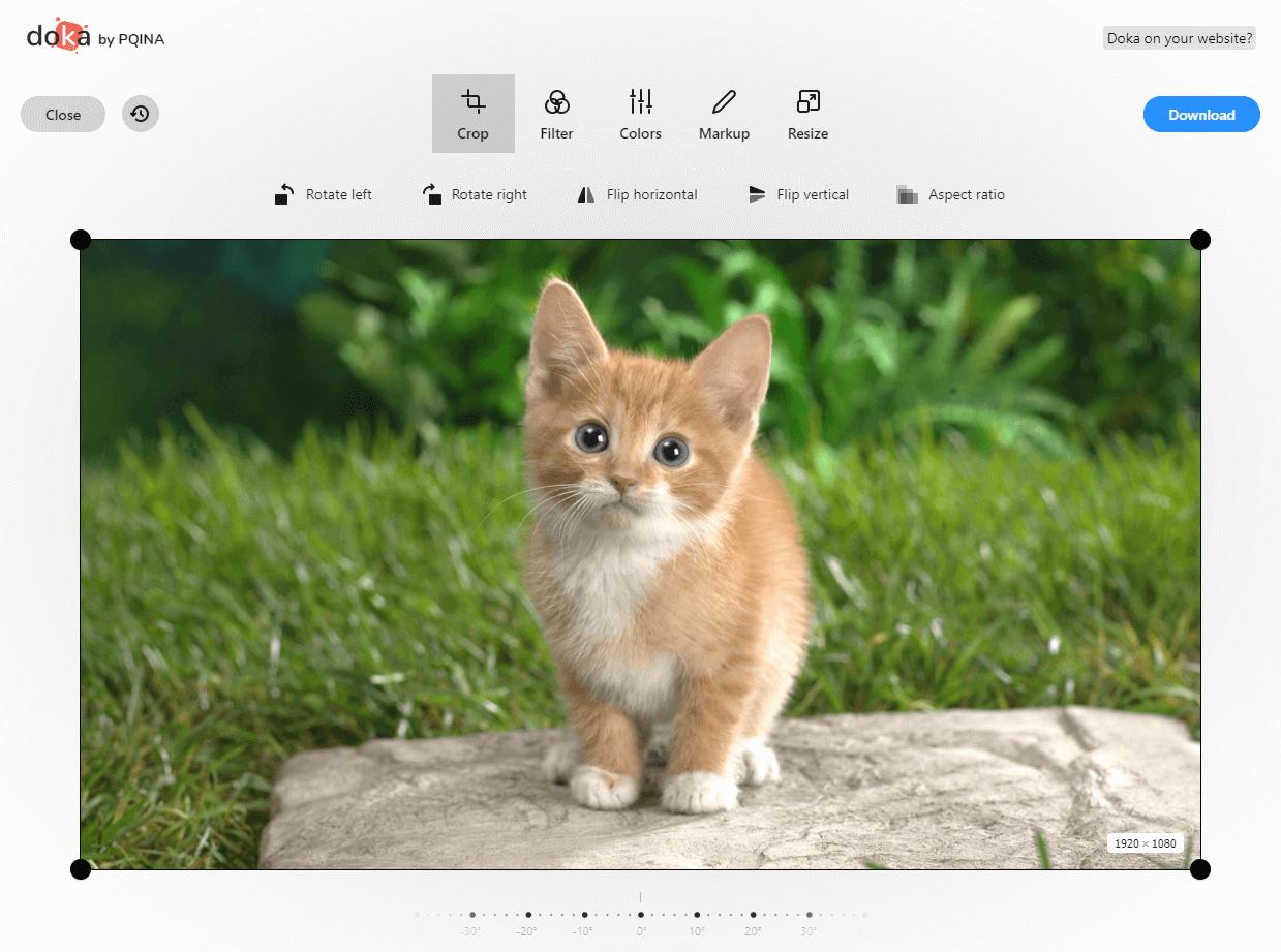 Modifiez Vos Images Avec L Editeur En Ligne Doka Informatique Generale Shevarezo Blog