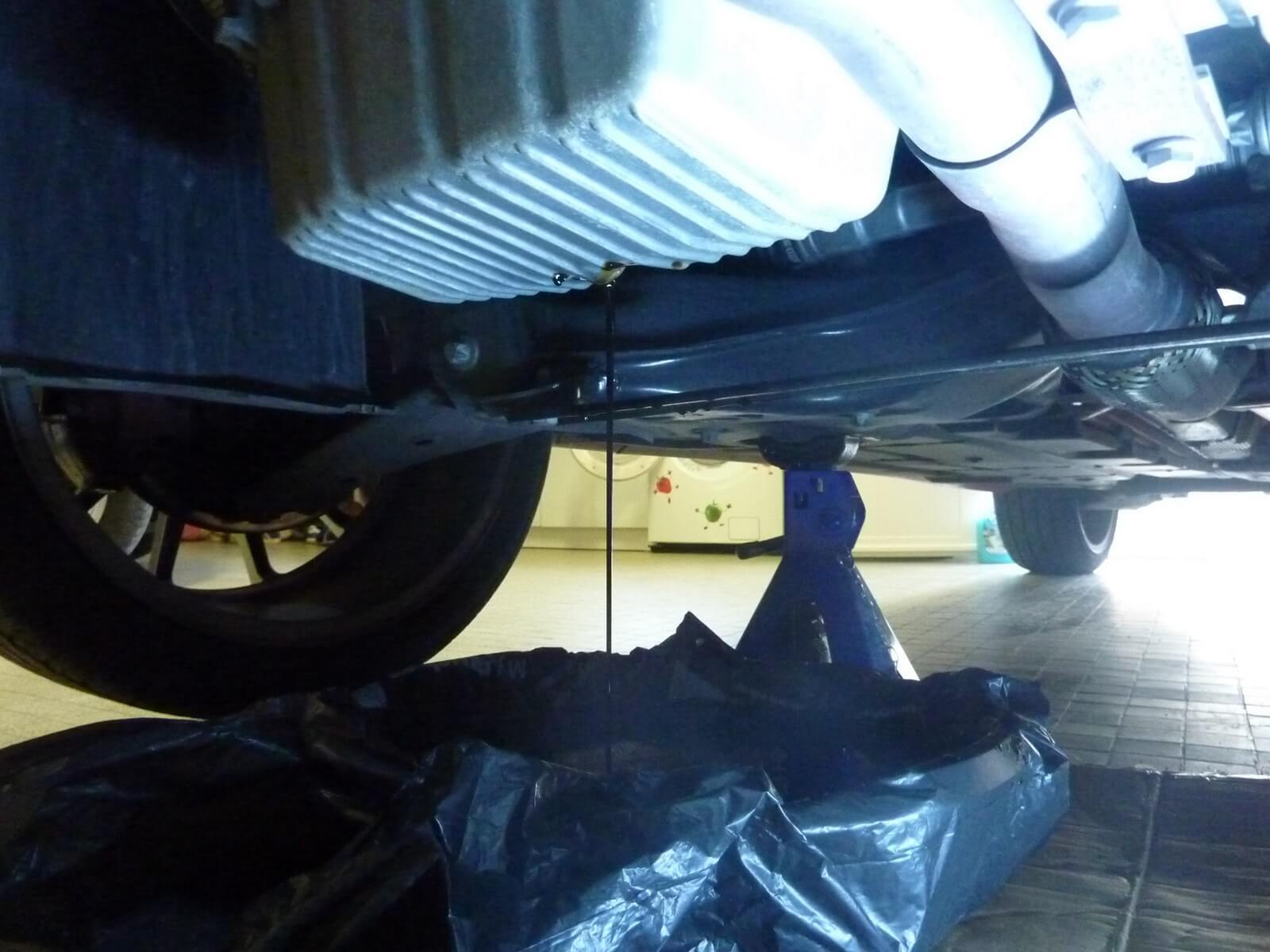 faire la vidange moteur  filtre  huile sur une fiat