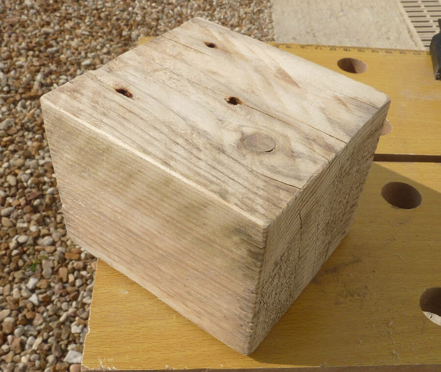 fabriquer un bougeoir en bois bricolage shevarezo blog. Black Bedroom Furniture Sets. Home Design Ideas